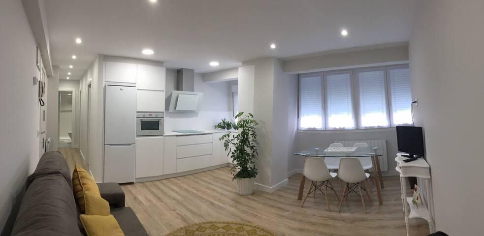 Pequeño hogar céntrico con WIFI