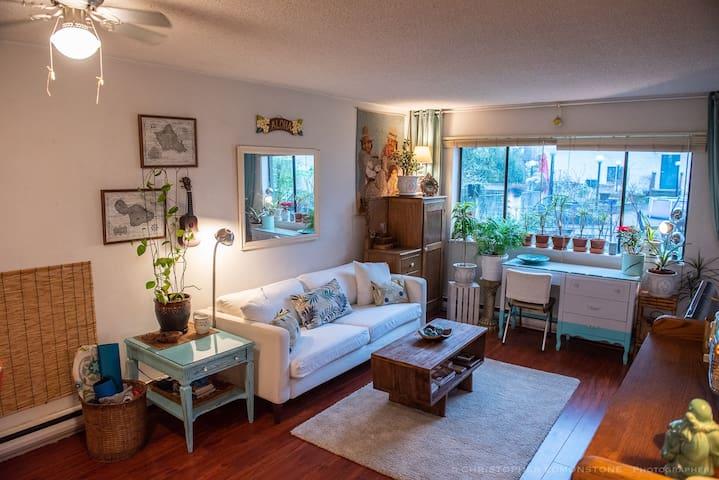 Comfy Hawiian Vibing One Bedroom Apartment