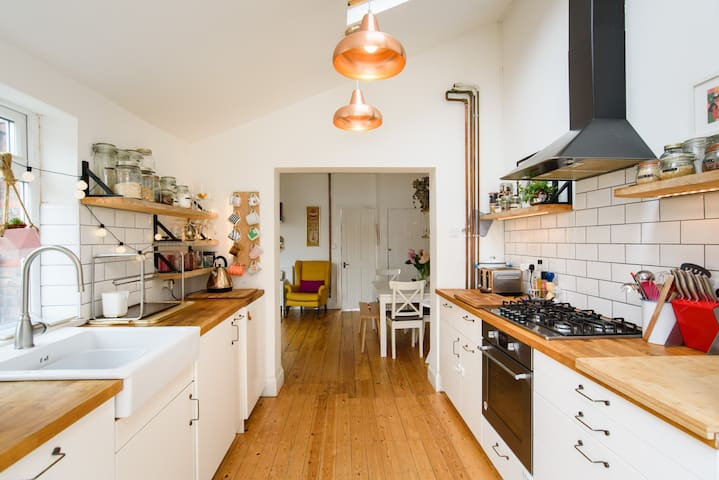 Stylish Two Bedroom House in Vibrant East Bristol