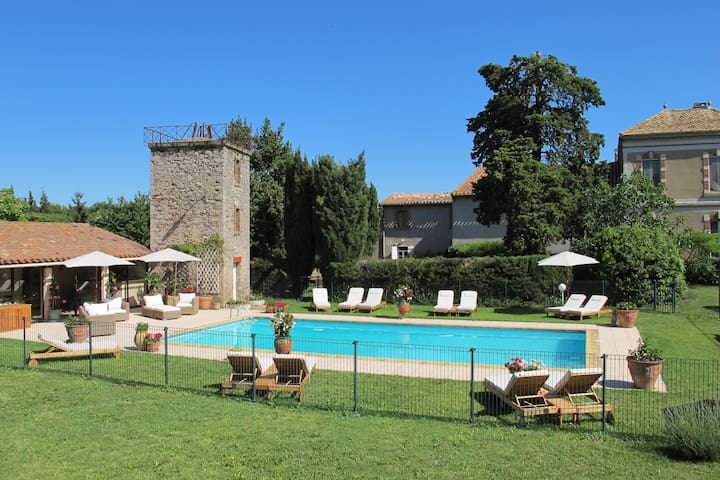 Family-friendly Cottage, heated pool, Carcassonne - Capendu - Ház