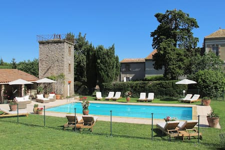 Family-friendly Cottage, heated pool, Carcassonne - Capendu - House