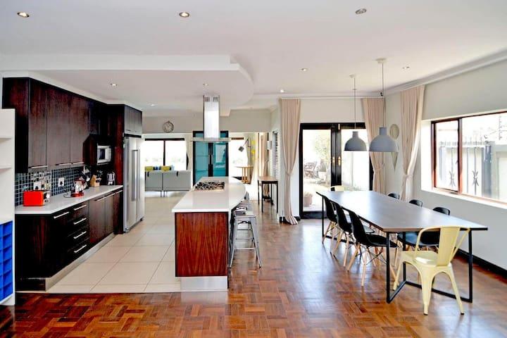 Contemporary, stylish, secure Parkhurst home