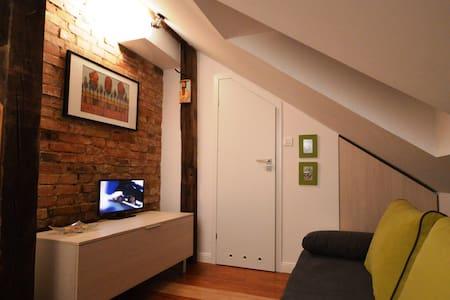 Mini studio  z łazienką na poddaszu - Gdańsk - Apartment