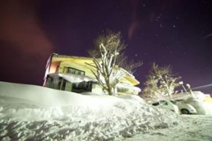 Ski in ski out chalet in Hakuba!