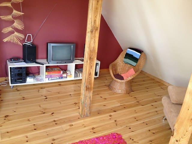 Ferienwohnung Fläming kleine FeWo - Bad Belzig - Apartemen
