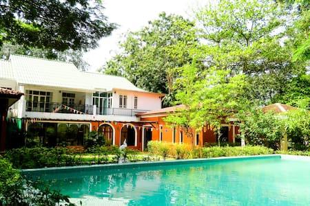 Private pool villa: River Kwai Escape