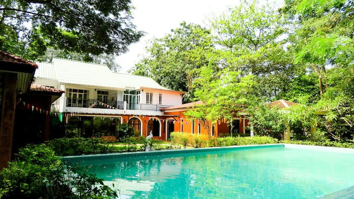 Private pool villa: River Kwai Escape