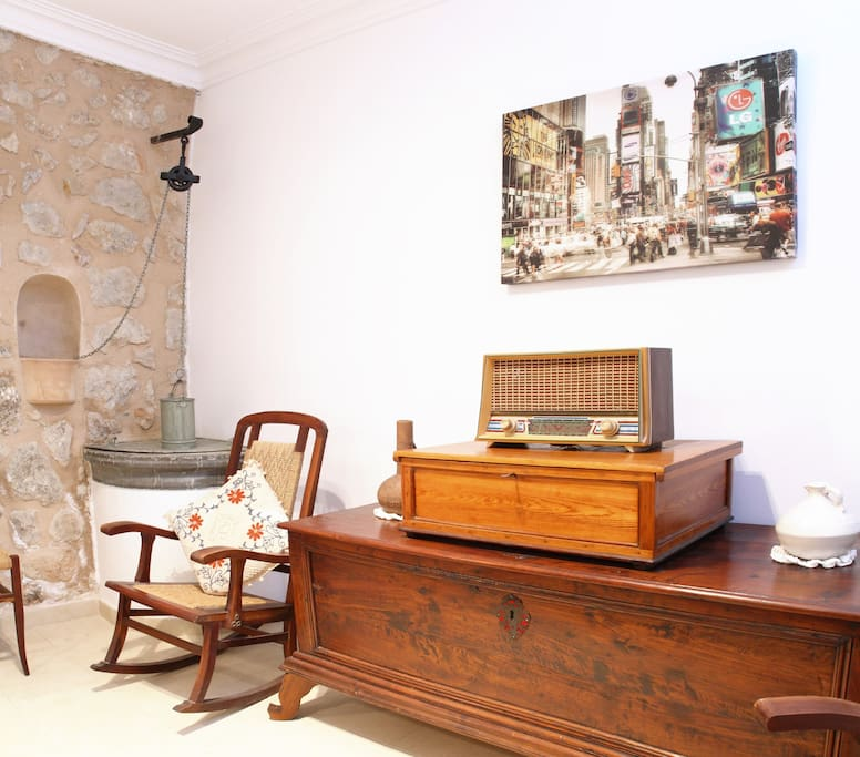 salon c/sofa cama, tv, chimenea (plt baja)