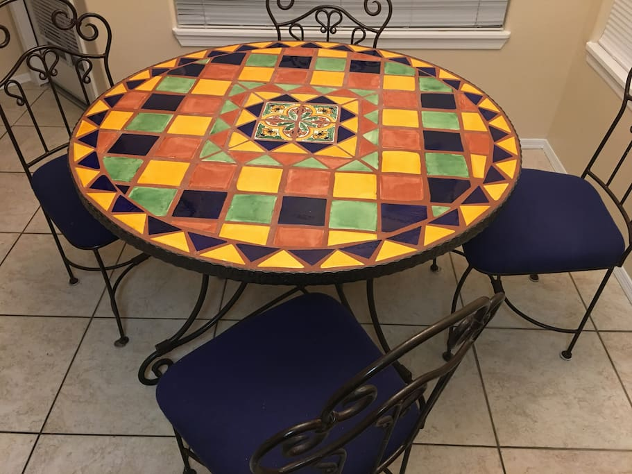 Kitchen table with seating for 4