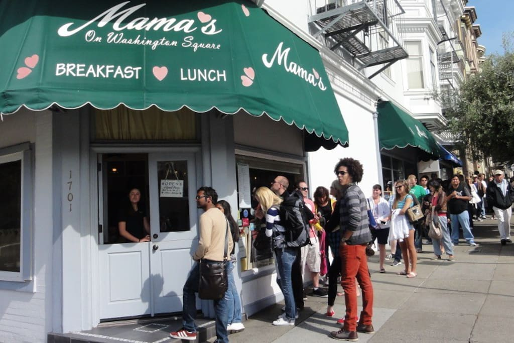 Photo of Mama's On Washington Square in Telegraph Hill