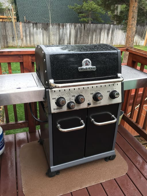 New BBQ this year
