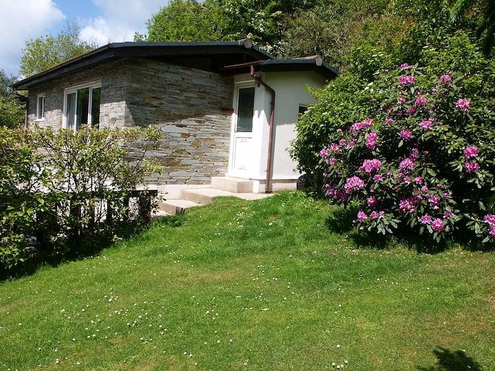 Kiberick Cottage-Crackington Haven-Private garden