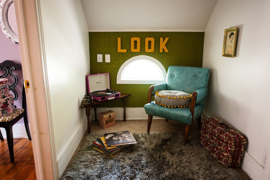 The Look Nook (Den, inspired by Moonrise Kingdom)