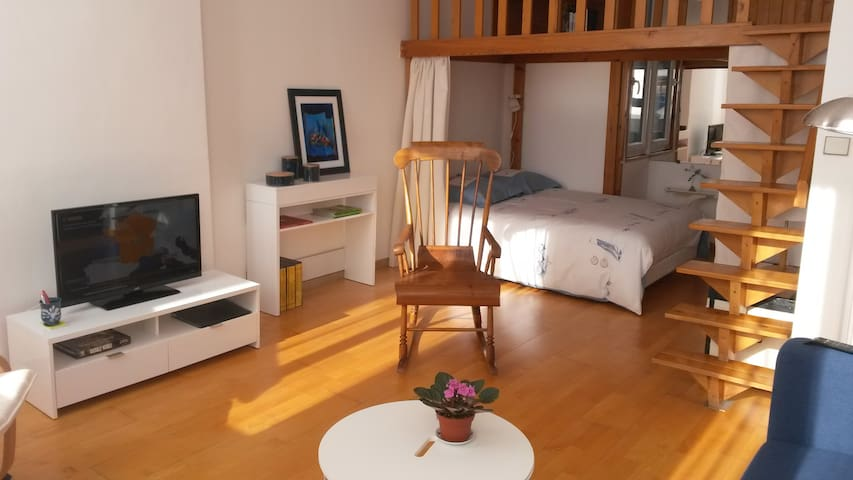Pretty sunny flat in the city center of Marseille
