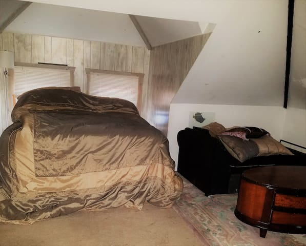 Spacious Attic Loft in Batavia