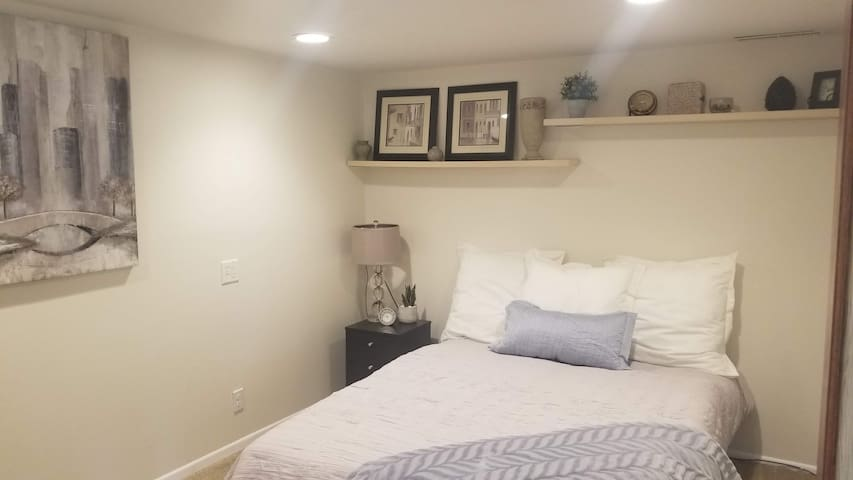 Your bedroom (queen bed)