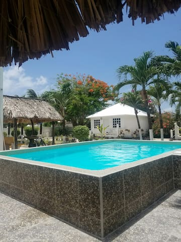 Hibiscus Cabana with pool access!