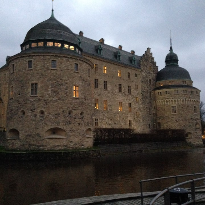 En mycket vacker lägenhet i hjärtat av  Örebro.