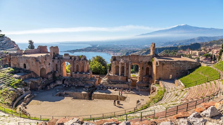 Linguaglossa tra l'Etna e Taormina.... - Linguaglossa - Appartement