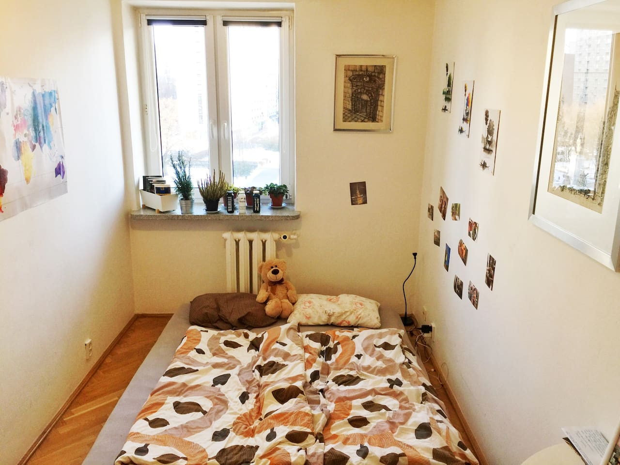 My room. With love. Book it before the teddy will start to cry, because he has to stay alone!