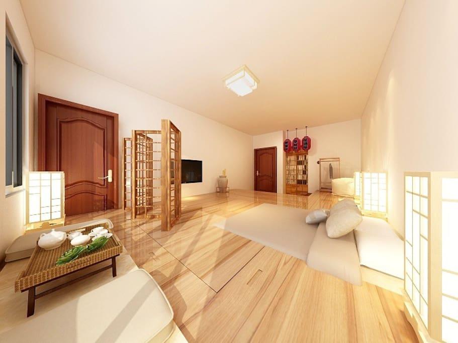 二楼 日式和风 榻榻米房间