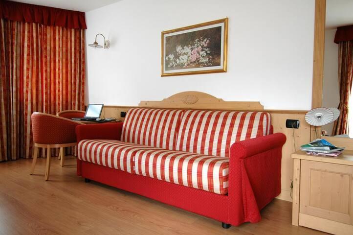 Studio apartment for 2 adults - San Martino di Castrozza - Apartamento