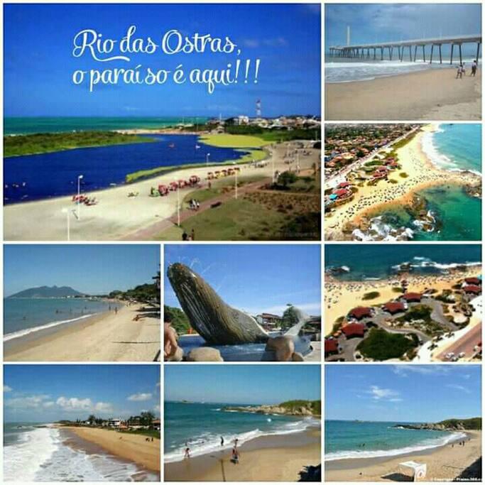 um pouco da cidade maravilhosa, Rio das Ostras!