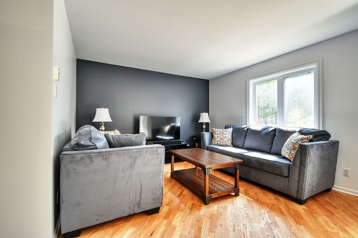 #617 - Great condo with private parking and lots of character