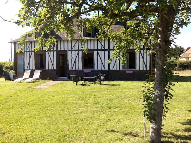 Maison du marais - Saint-Aubin-sur-Quillebeuf - Talo