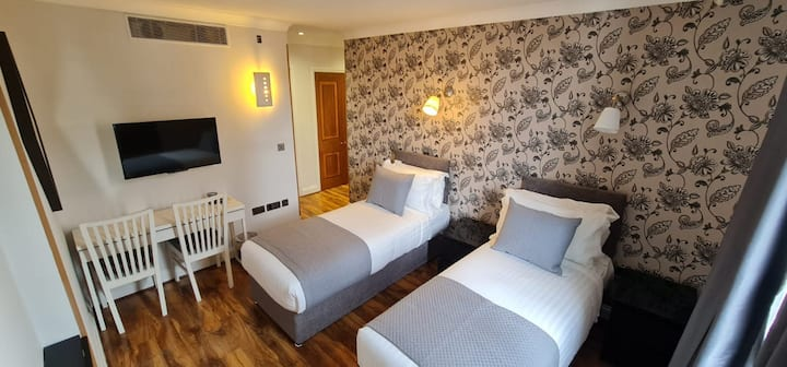 R203- Newly Furnished Superior Double / Twin Room