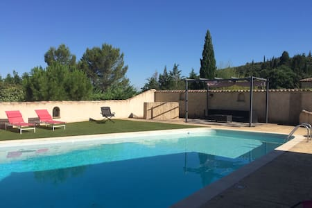 Maison  avec piscine & jardin sans vis-à-vis - Corconne - Vila