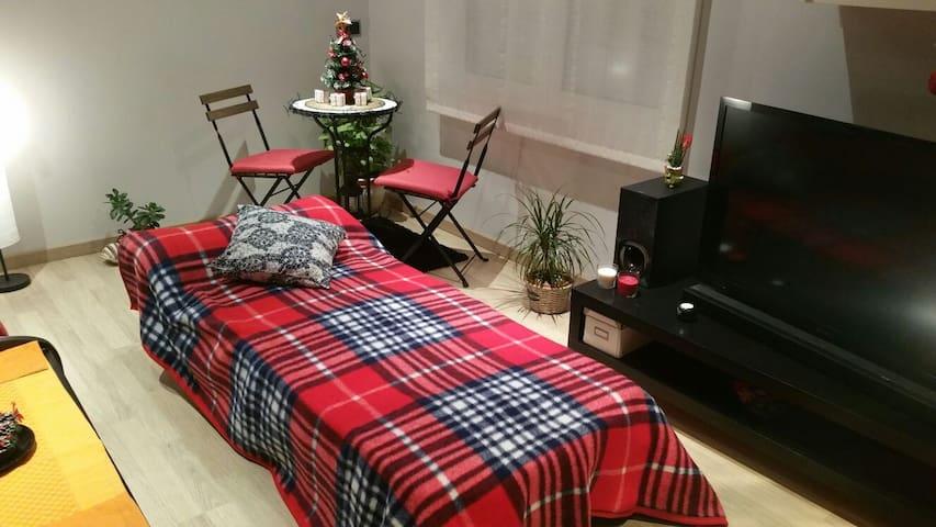 Espai en un loft encantador - Sant Joan de Vilatorrada - Apartament