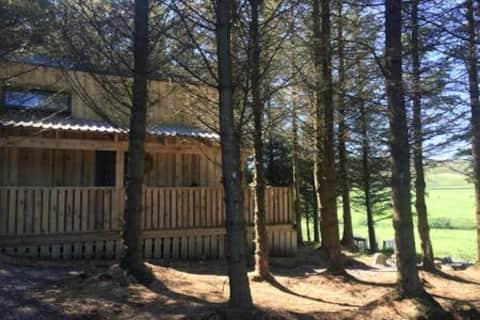 Bluebell Cabin, romantisk feriested med spabad