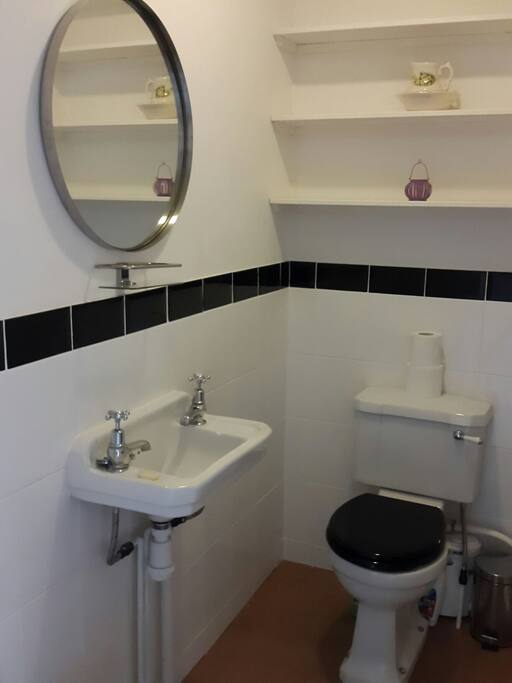Your ensuite toilet which has a WC, wash basin & bidet
