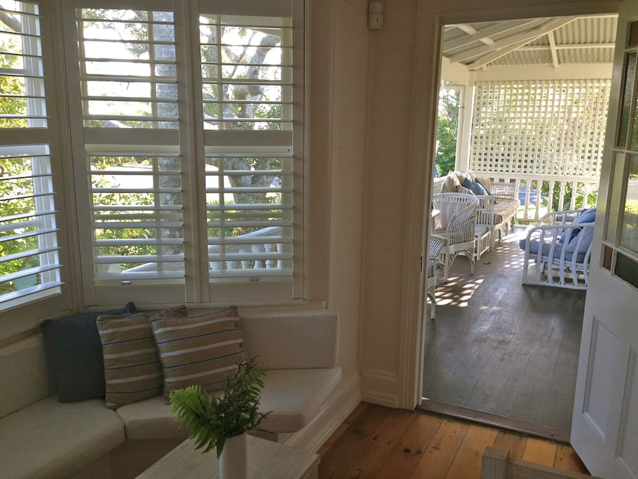 Own access to the shared front veranda