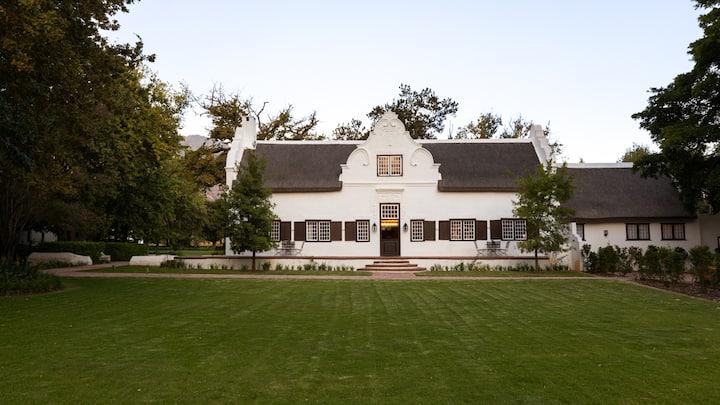 Blaauwklippen Manor