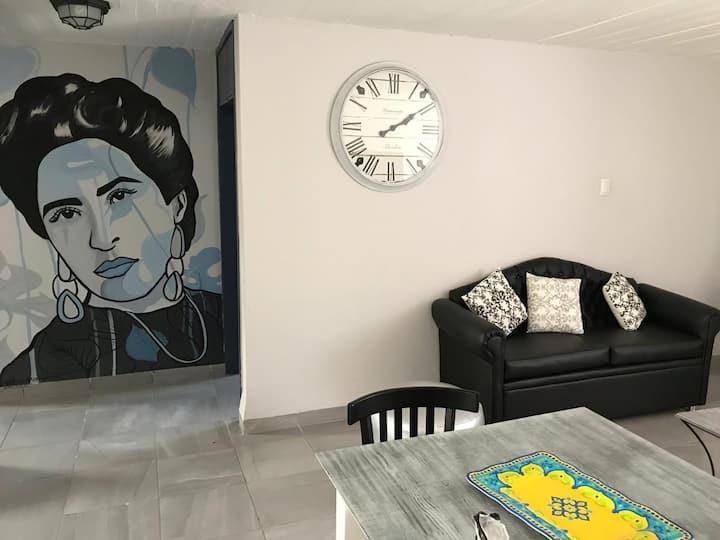 La casa de la Jefa ,departamento centro oaxaca