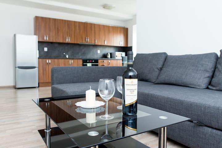 Moderní byt v centru lázeňského města
