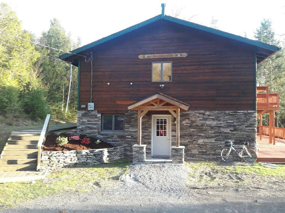 Chalet offers all the charm and warmth of Alps..