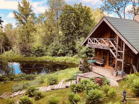 Nice cottage 4km from Cesis city center