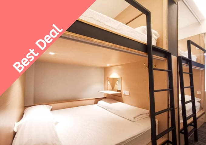 [NEW3] Single Bunk B&B @JB city center ❣️by ATTRUS