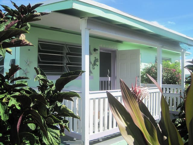 Breezy Island Cottage with all the amenities - Spanish Wells - Hus