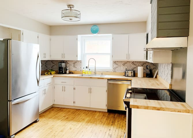 Newly Renovated Home in Heart of Sister Bay