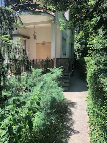 Cosy apartment with terrace in the very green Buda