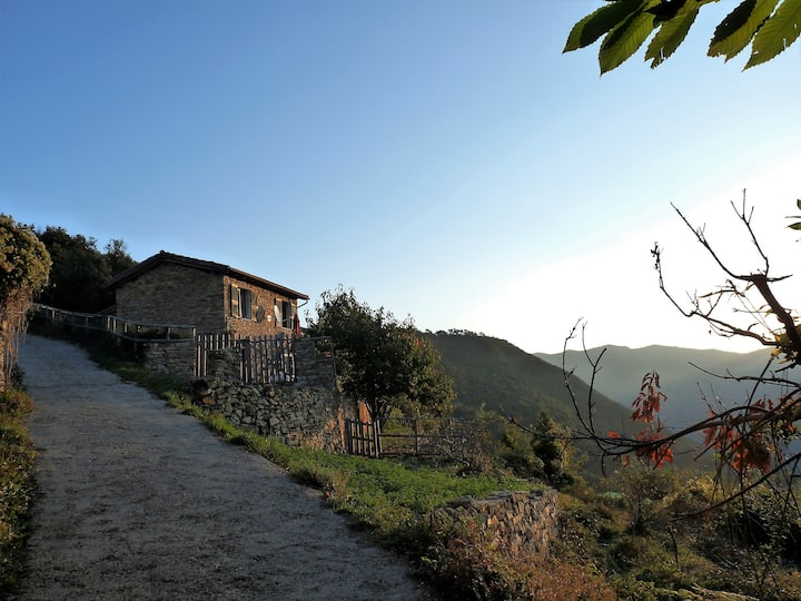 Casa Monte - Steinhaus in Alleinlage mit Meerblick