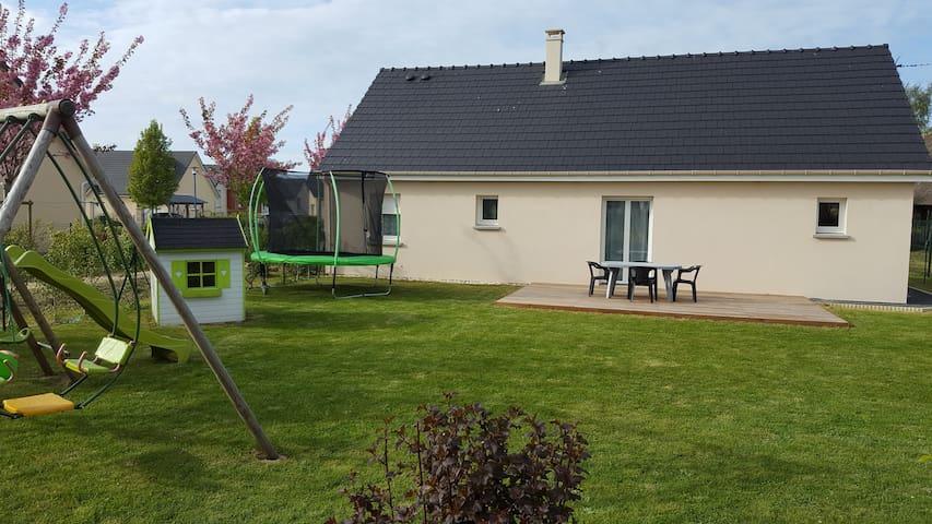 Maison Néville (à 5 km St valéry en caux) 6 pers - Néville - 獨棟
