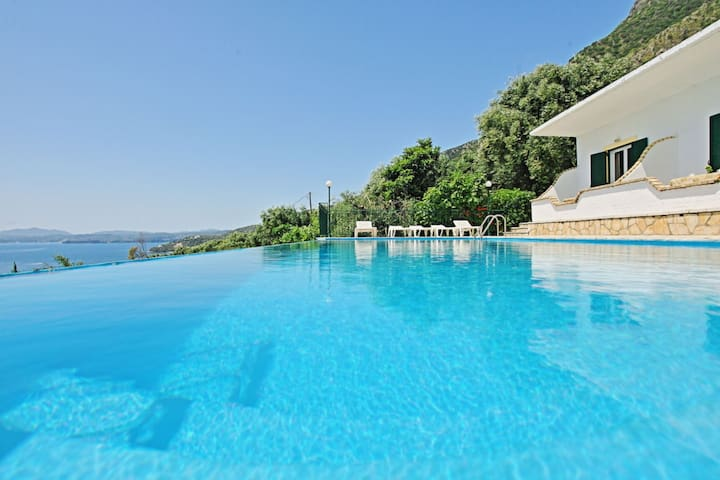 Villa Eleni - Seaside Villa Rental on Corfu Island, Greece