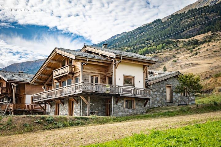 Chalet cocooning à Val Cenis