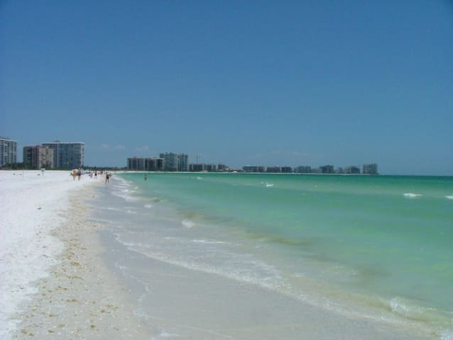 The beautiful blue green Gulf of Mexico