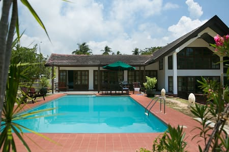 Tropical Beach Villa with Swimming Pool